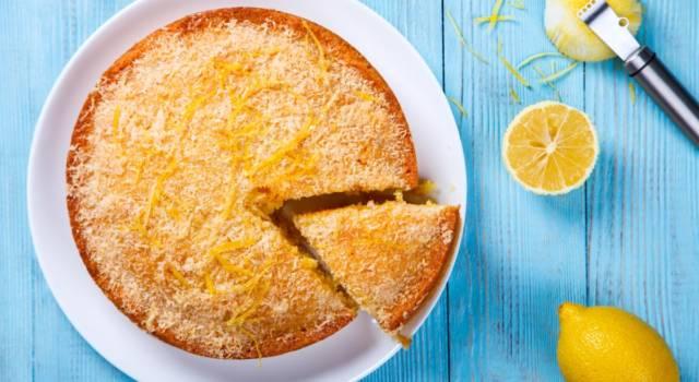 Torta al limone: soffice, facile e buonissima!