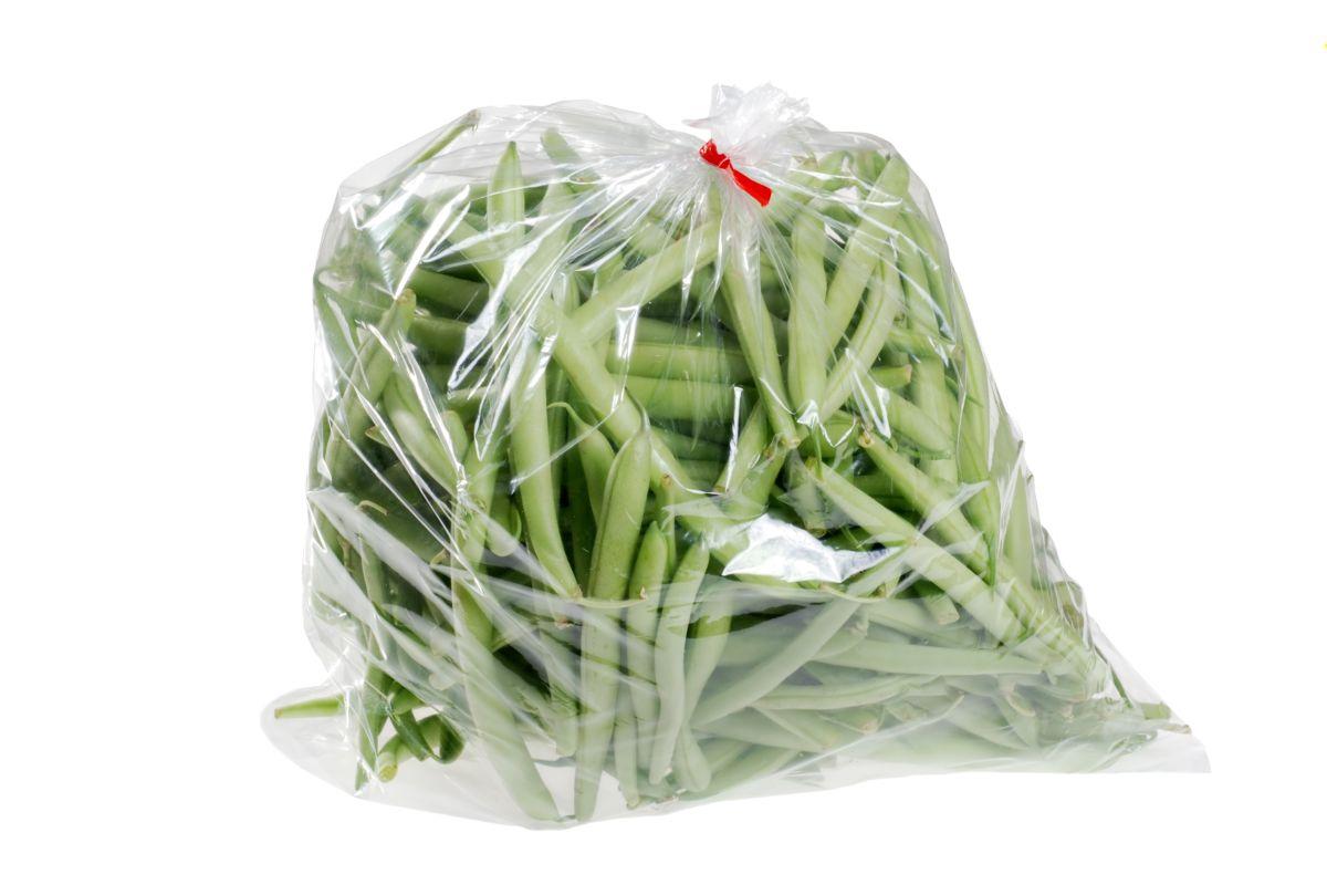 fagiolini in sacchetto