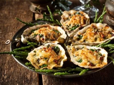 Ostriche gratinate al forno, l'antipasto perfetto per una cena di pesce