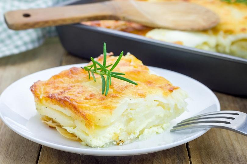 parmigiana di patate alla scamorza