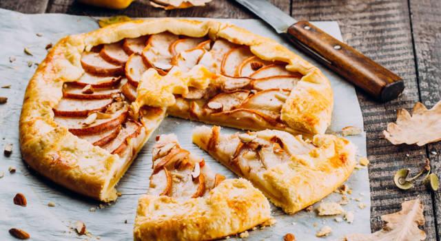 Crostata di grano saraceno alle pere: il dolce senza glutine!