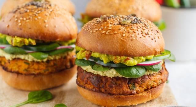Hamburger di pesce spada, un secondo piatto senza glutine