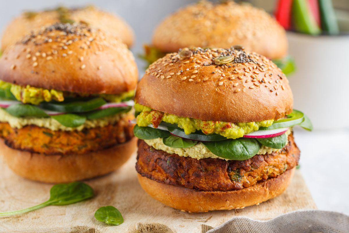 Hamburger di pesce spada