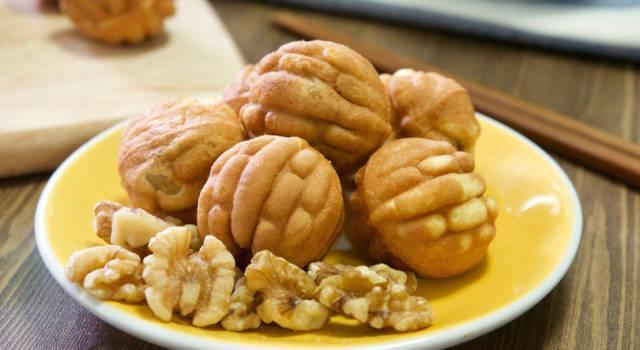 Noci dolci: un pasticcino particolare e d'effetto!