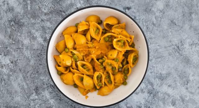 Pasta al pesto di carote e rosmarino senza glutine
