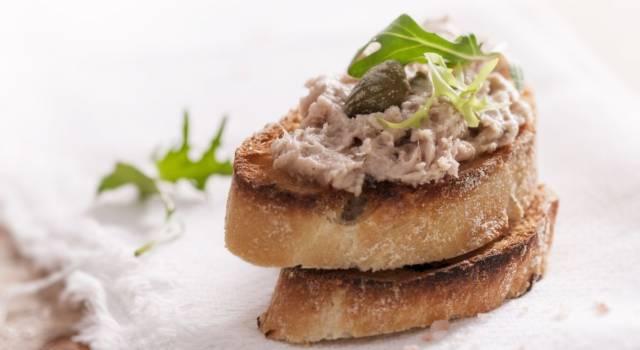 Come si fa il paté di tonno? La ricetta senza glutine, da preparare anche con il Bimby