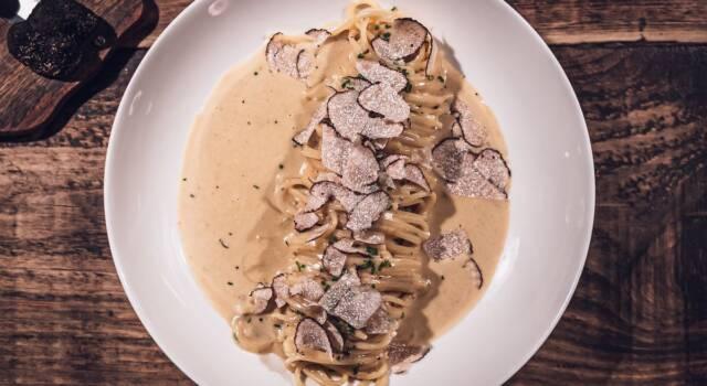 Spaghetti di farro al tartufo: la versione vegana del primo piatto!