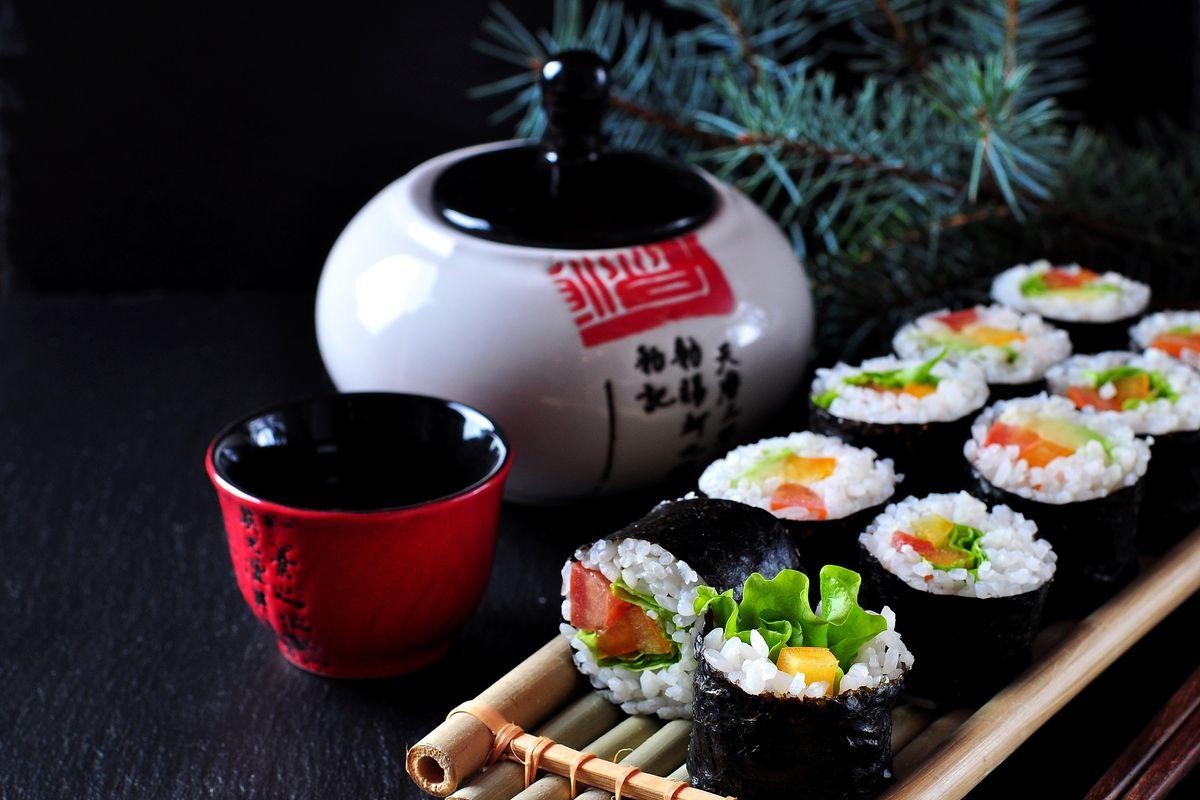 Sushi di verdure