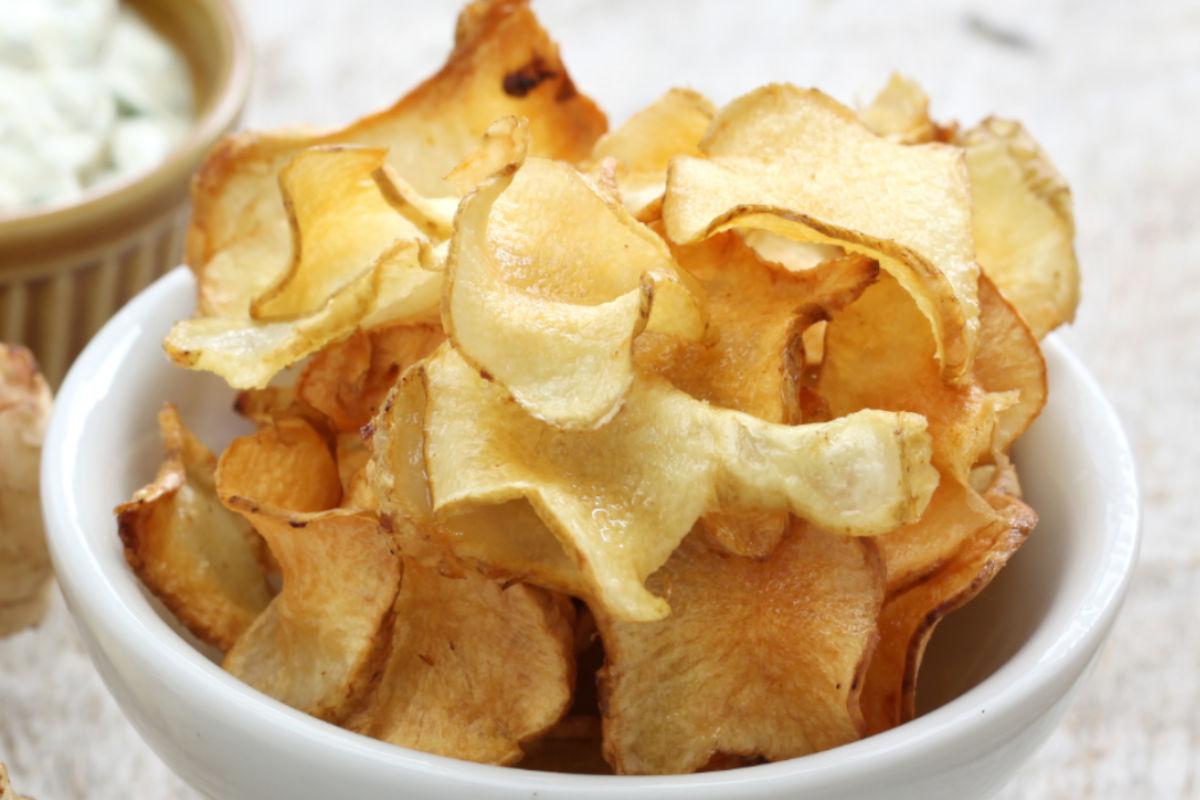Chips di scorzonera