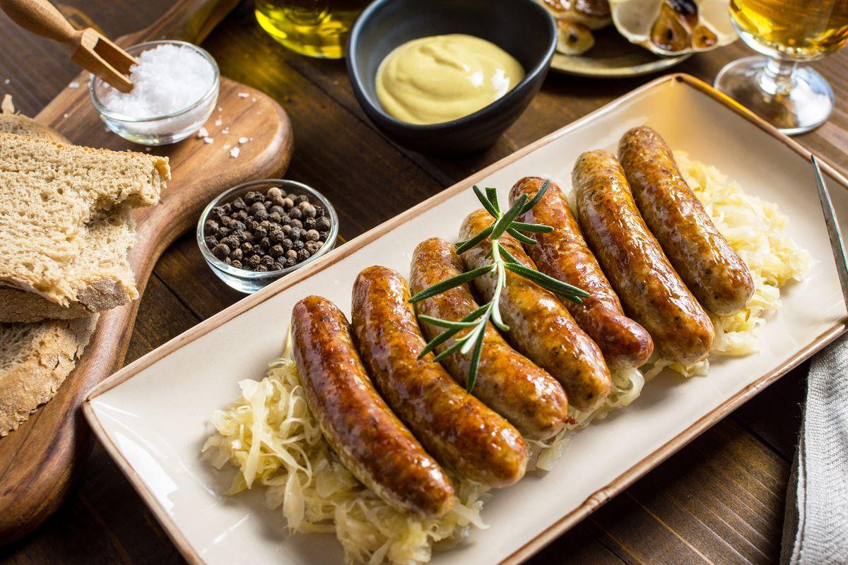 Crauti con salsiccia