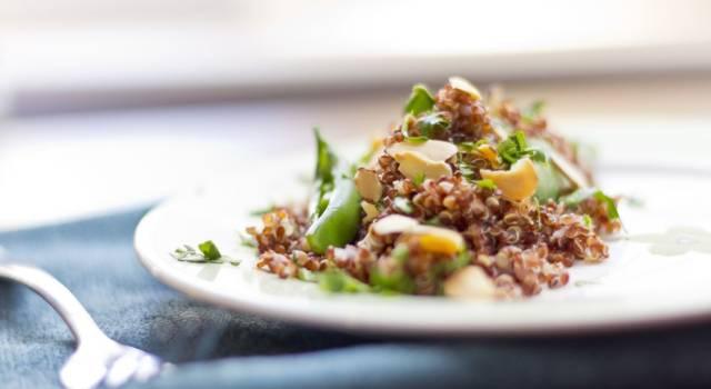 Insalata di quinoa con carciofi, una ricetta deliziosa (e veg)!