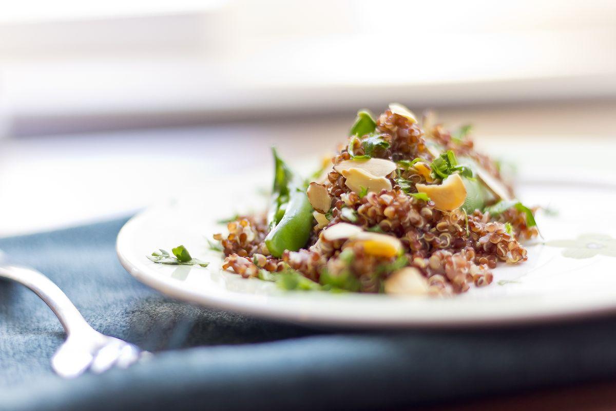 quinoa e carciofi