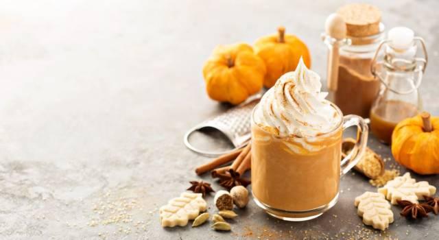 Smoothie di zucca con cuore di Nutella: un dolce autunnale senza glutine!