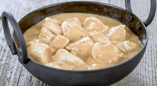 Bocconcini di tacchino in salsa yogurt, un secondo piatto gluten free