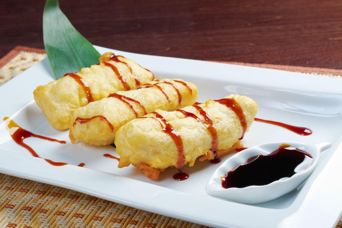 tempura frutta