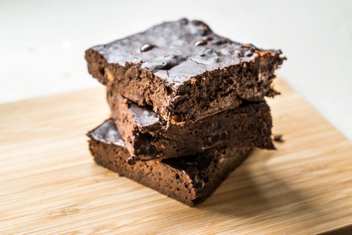 Torta al cioccolato e farina di carrube