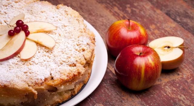 Torta di mele alla grappa di Barolo, un dolce delizioso!