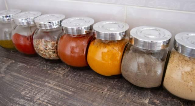 Come (e dove) conservare le spezie fresche e le erbe aromatiche