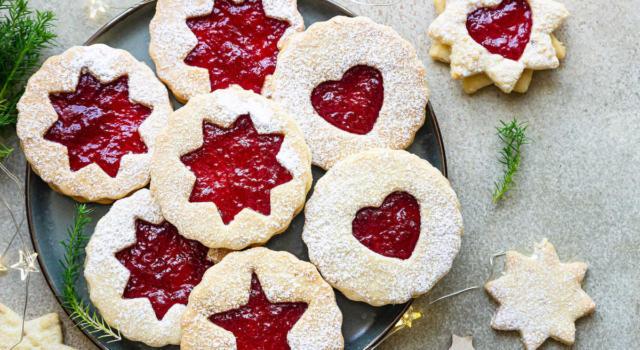 Biscottini di Natale di Linz: perfetti con il tè