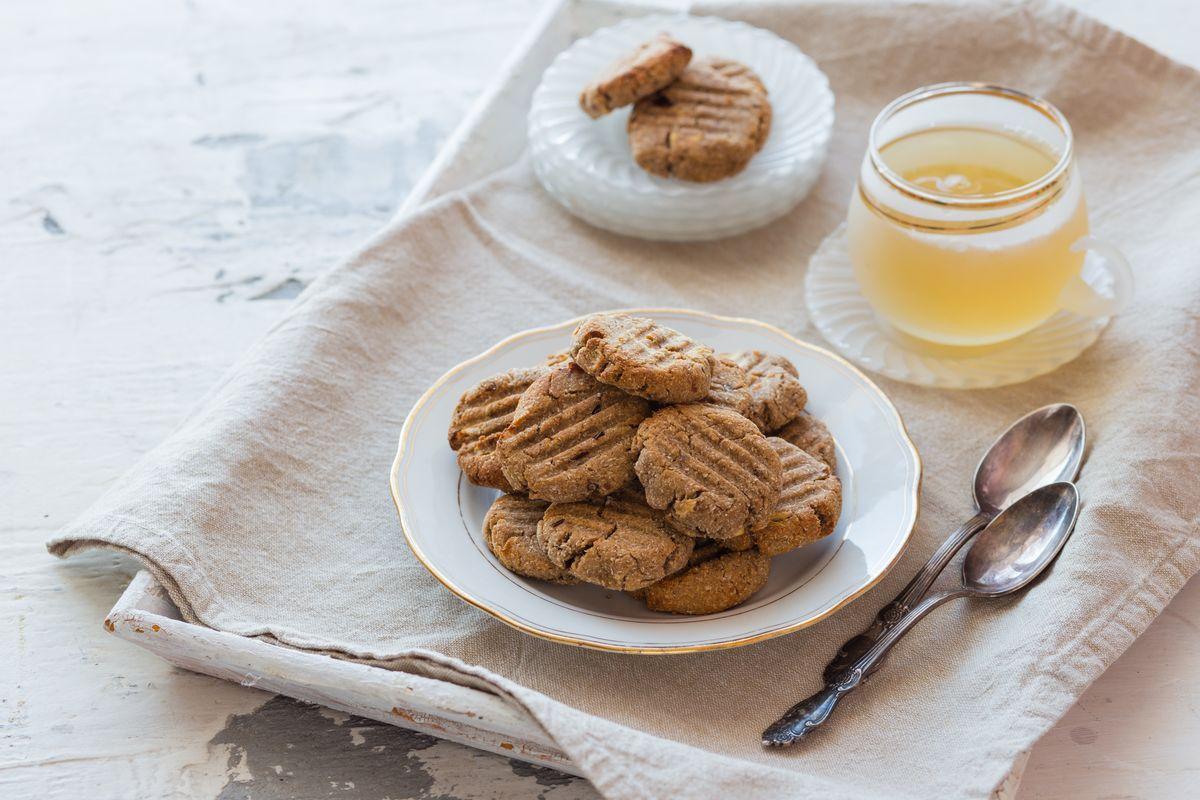 biscotti senza glutine con zenzero e cannella