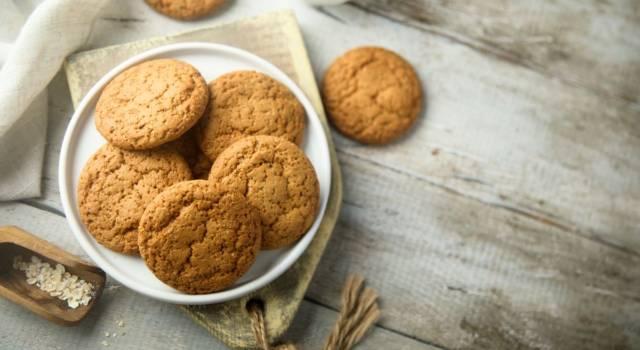Deliziosi biscotti fatti in casa allo zenzero: la ricetta senza glutine