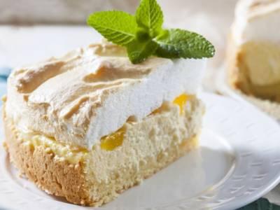 Cheesecake meringata ai limoni di Sorrento