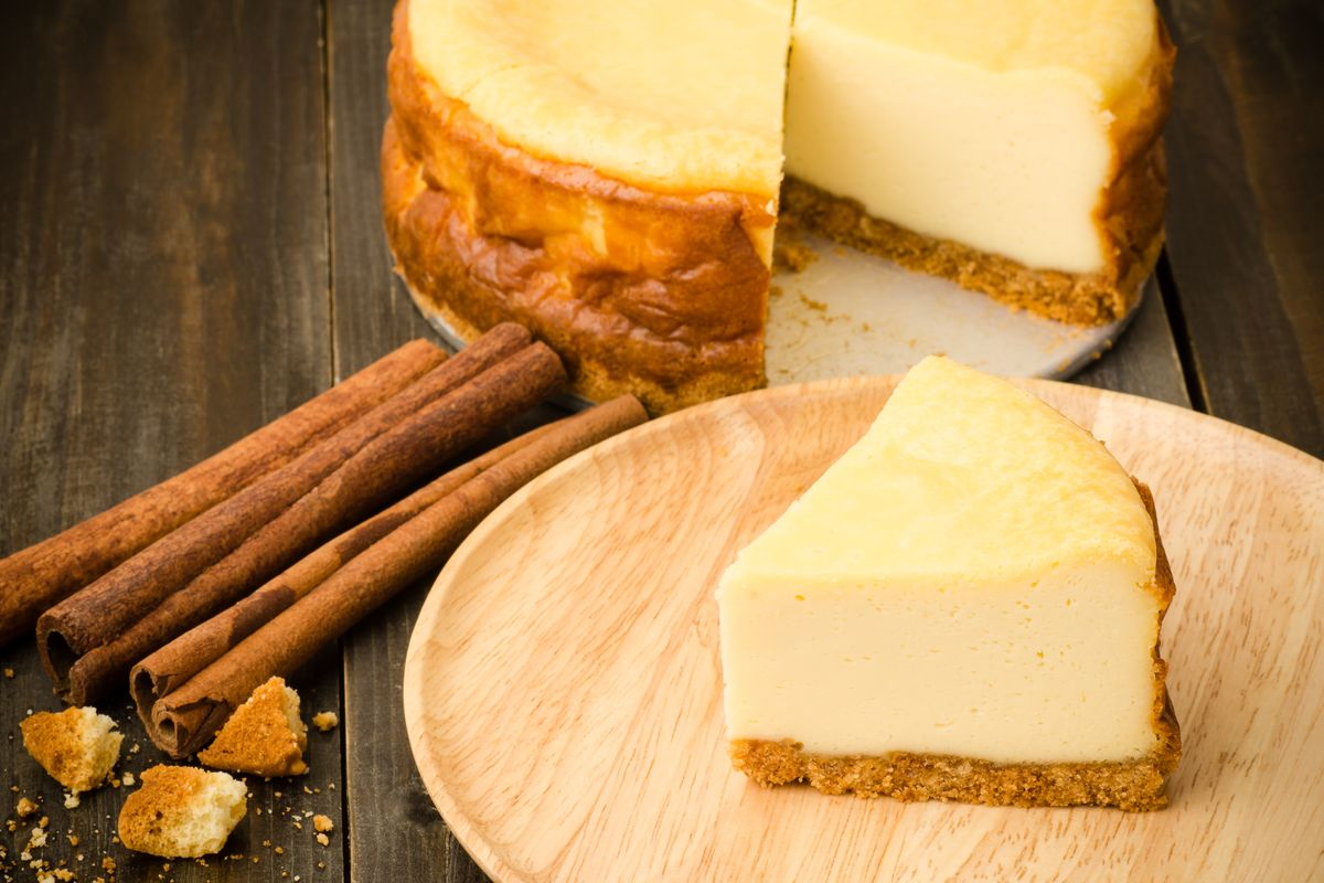 Cheesecake al mascarpone con cannella