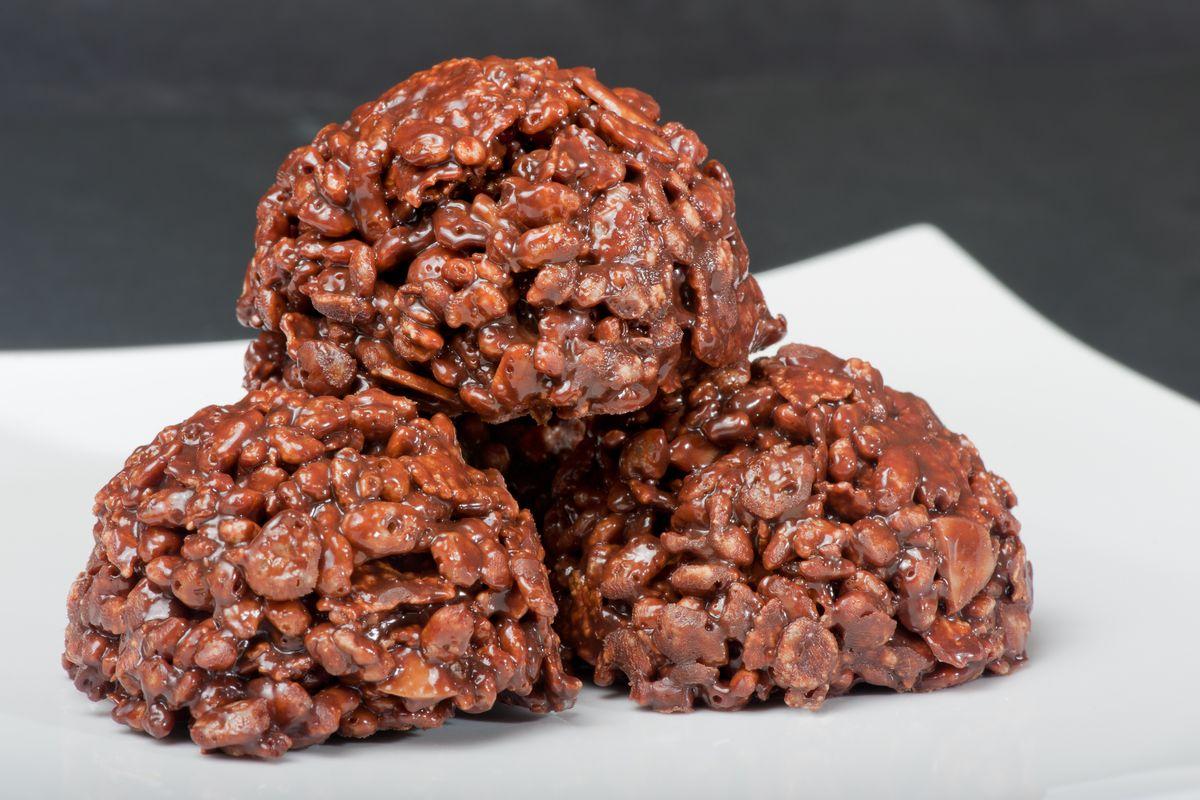 Cioccolatini con riso soffiato