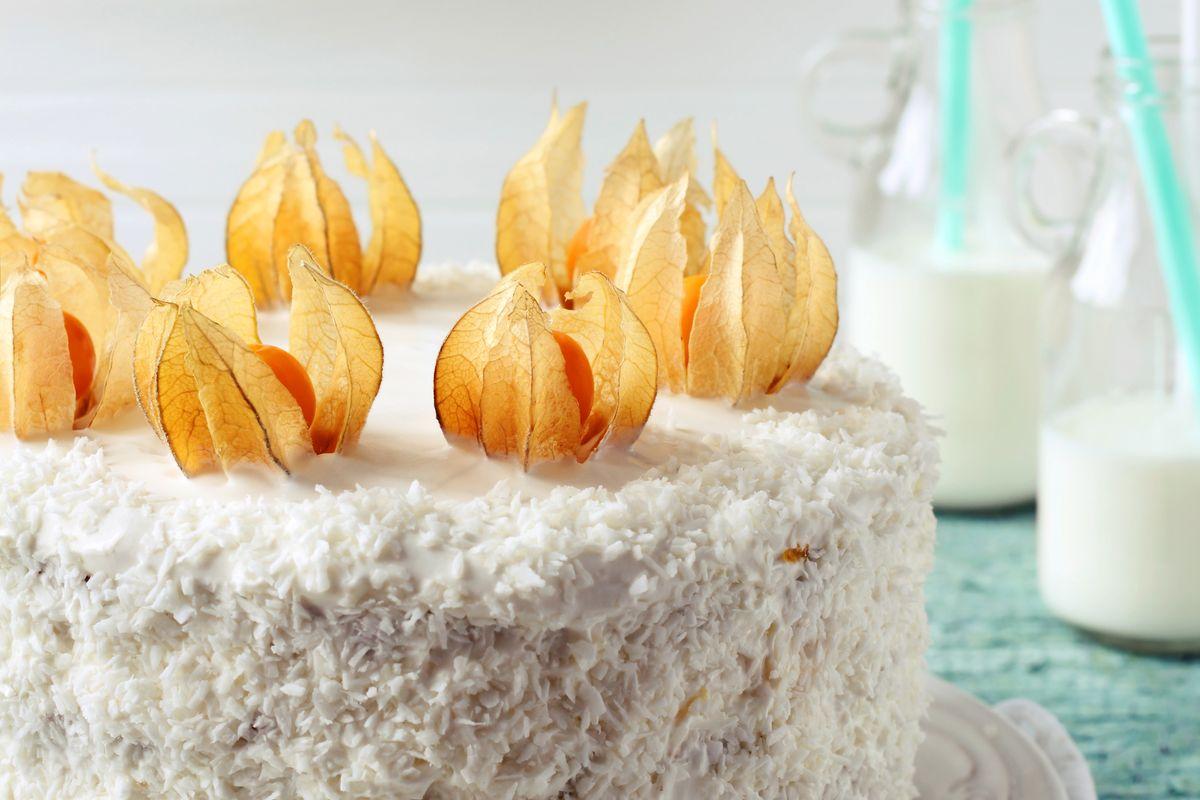 torta con alchechengi