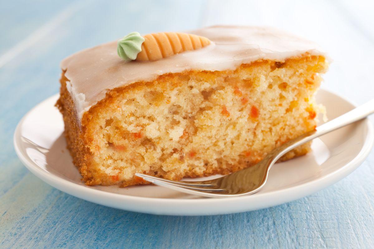 torta di carote veg
