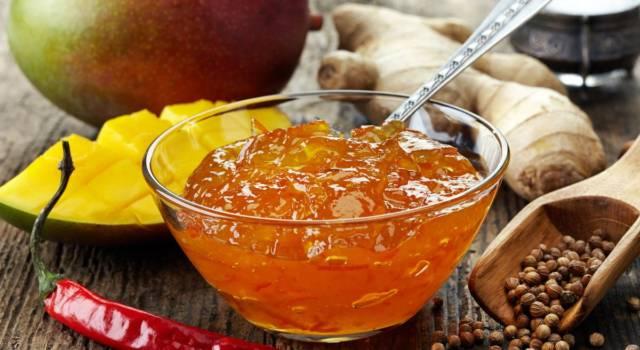 Chutney di mango, speziato e agrodolce