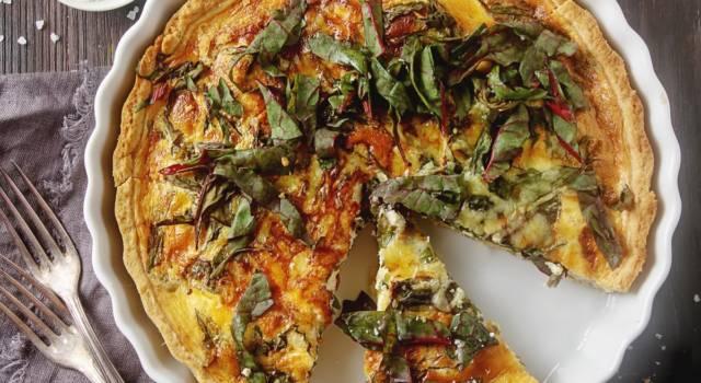 Quiche lorraine senza glutine con verdure: che bontà!