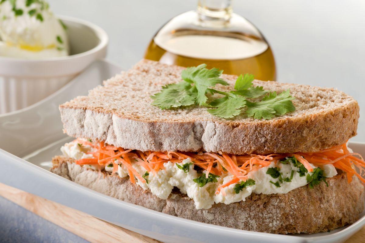 Sandwich gourmet veg