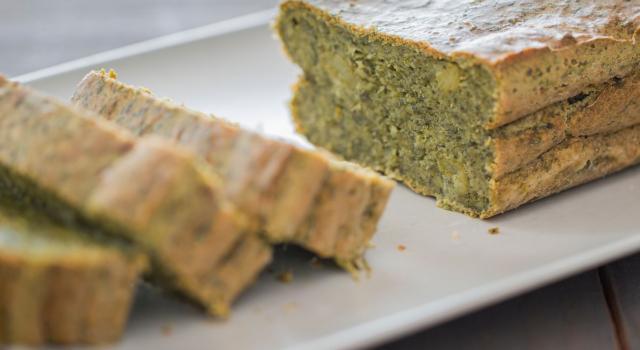 Plumcake salato agli spinaci: la ricetta senza glutine, anche col bimby!