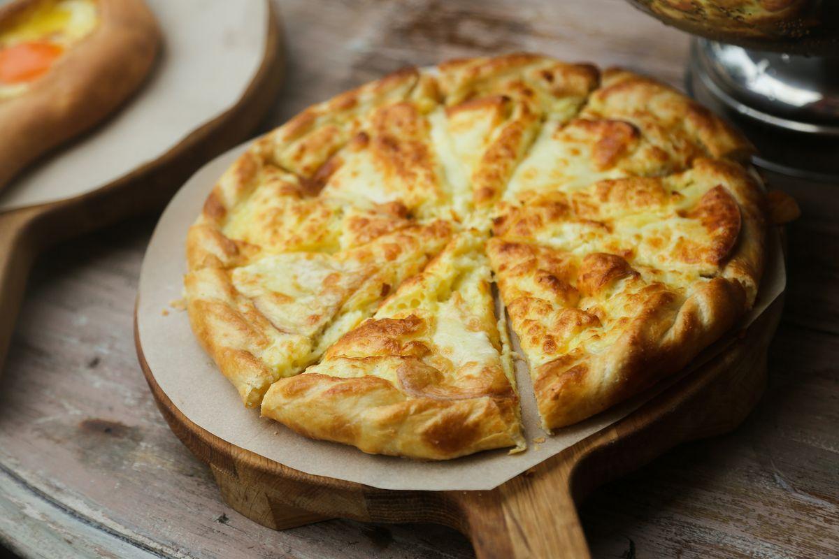 Torta salata formaggio e pere