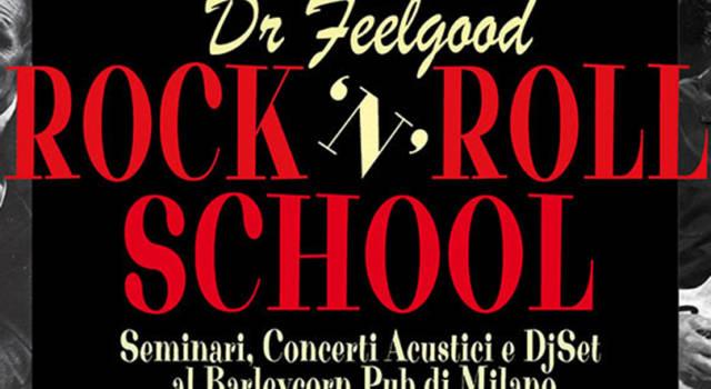 Dr. FeelgoodRock'n'Roll School a Milano per celebrare la musica e il buon cibo