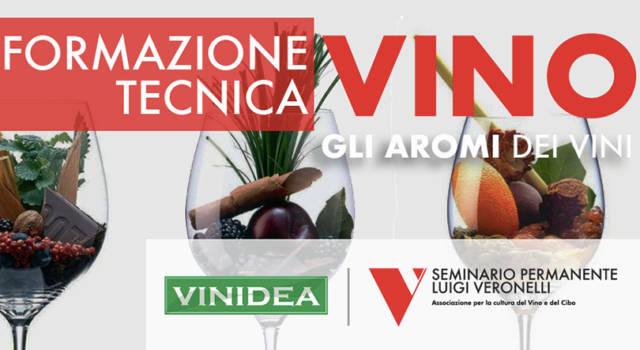 L'incontro tecnico Vinidea intitolato Gli aromi dei vini: le basi molecolari
