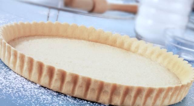 Pasta frolla con il Bimby: la ricetta per biscotti e crostate