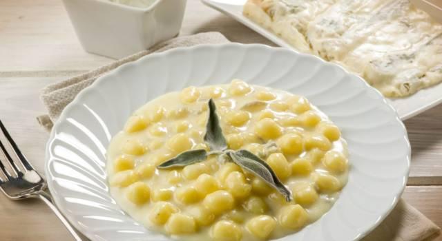 Gnocchi con crema di gorgonzola: resistere è impossibile!