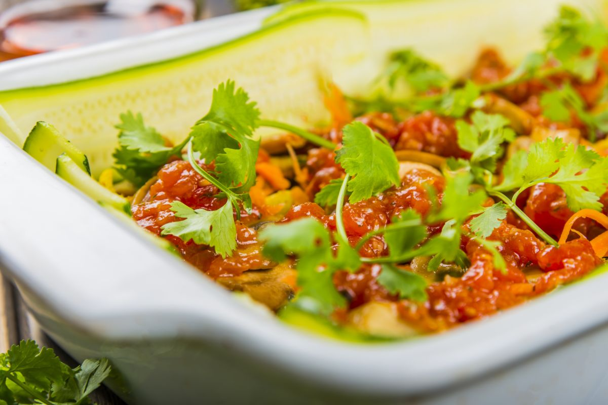 Lasagne di cetrioli