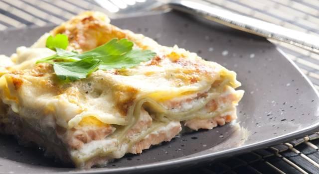 Lasagne al salmone e besciamella: la ricetta del piatto goloso