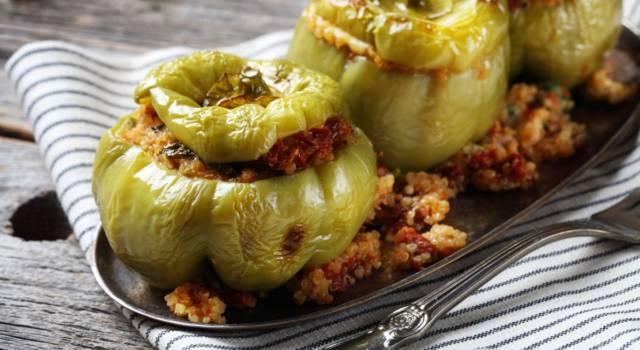 Come preparare i peperoni verdi ripieni senza glutine