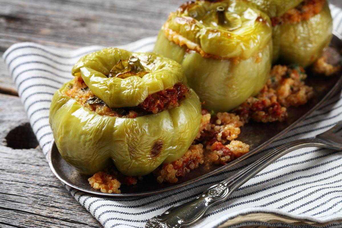 peperoni verdi ripieni senza glutine