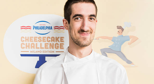 A vincere la prima edizione della Philadelphia Cheesecake Challenge Milano Edition è La Purple Cheesecake della Pasticceria Luca