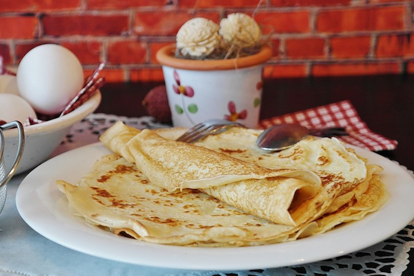 crepes senza latte