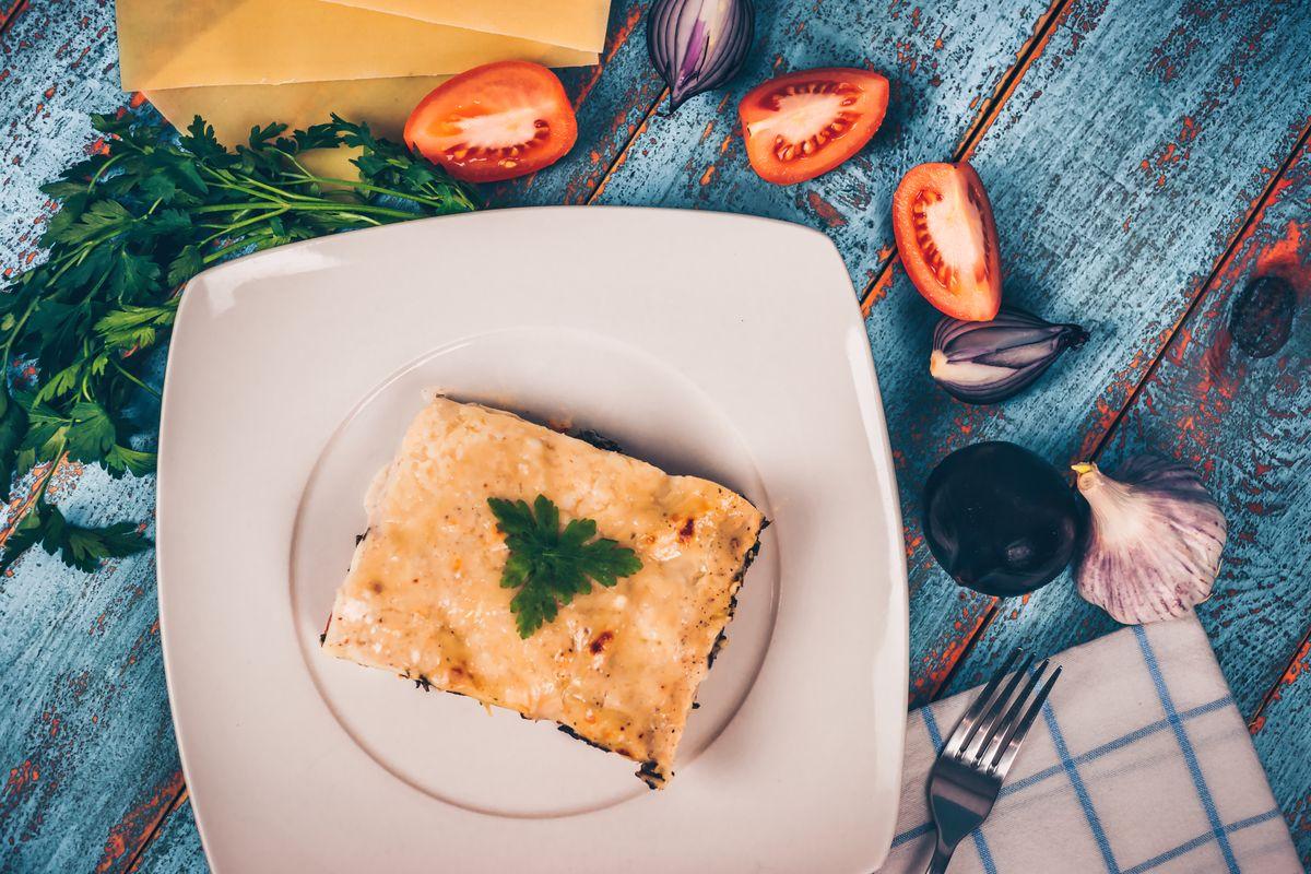 Lasagne di pane azzimo
