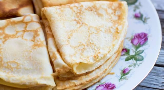Come fare le crepes senza latte: la versione alternativa per l'impasto delle crespelle