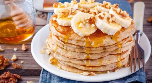 Pancake alla banana: un dolce davvero irresistibile!