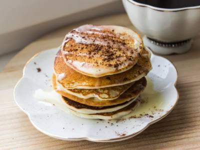 Pancake proteici: la colazione dei campioni!