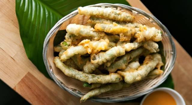 Verdure in tempura di farina di riso veg